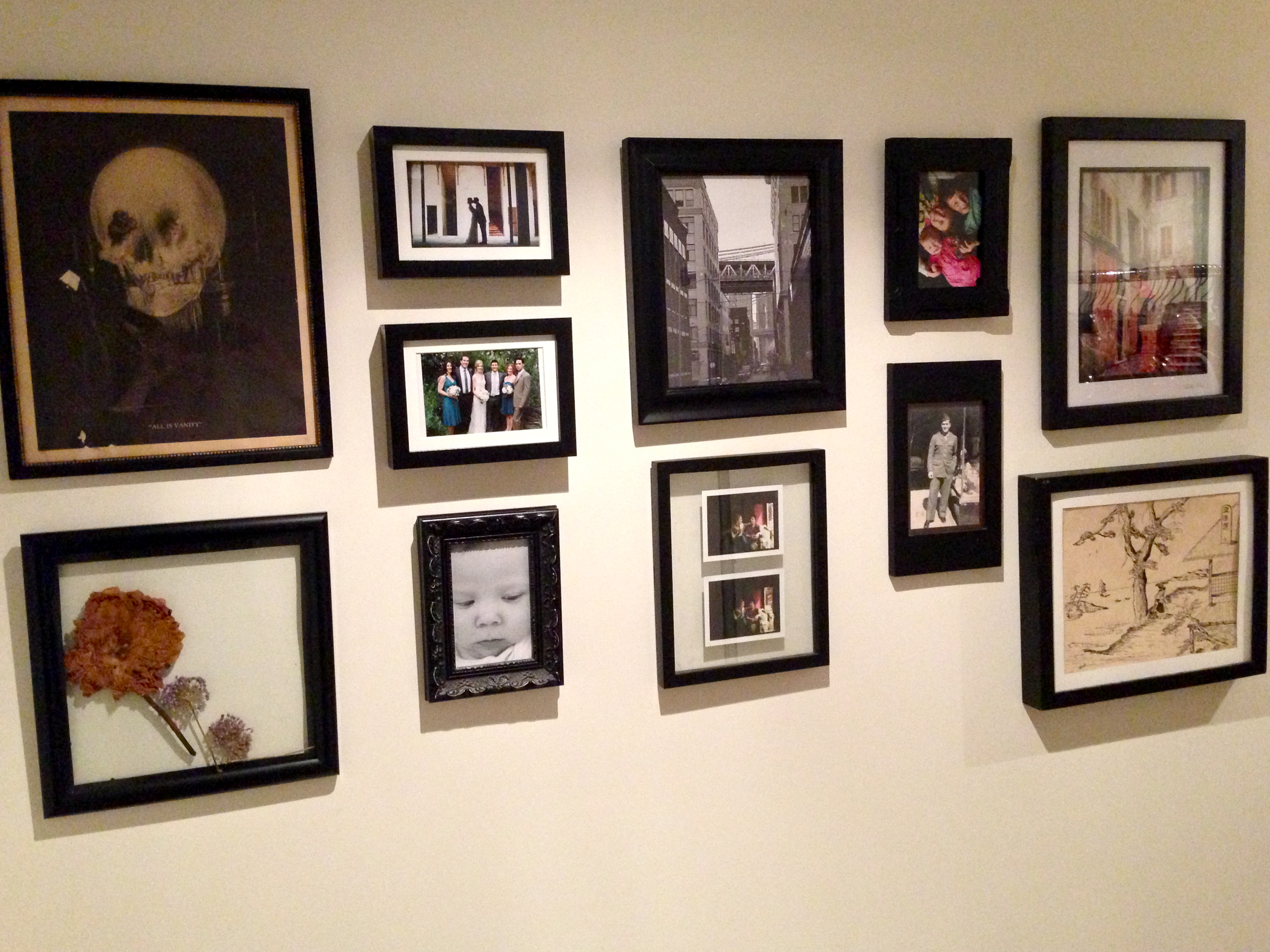 The Brooklyn Stylist How To Diy A Gallery Wall