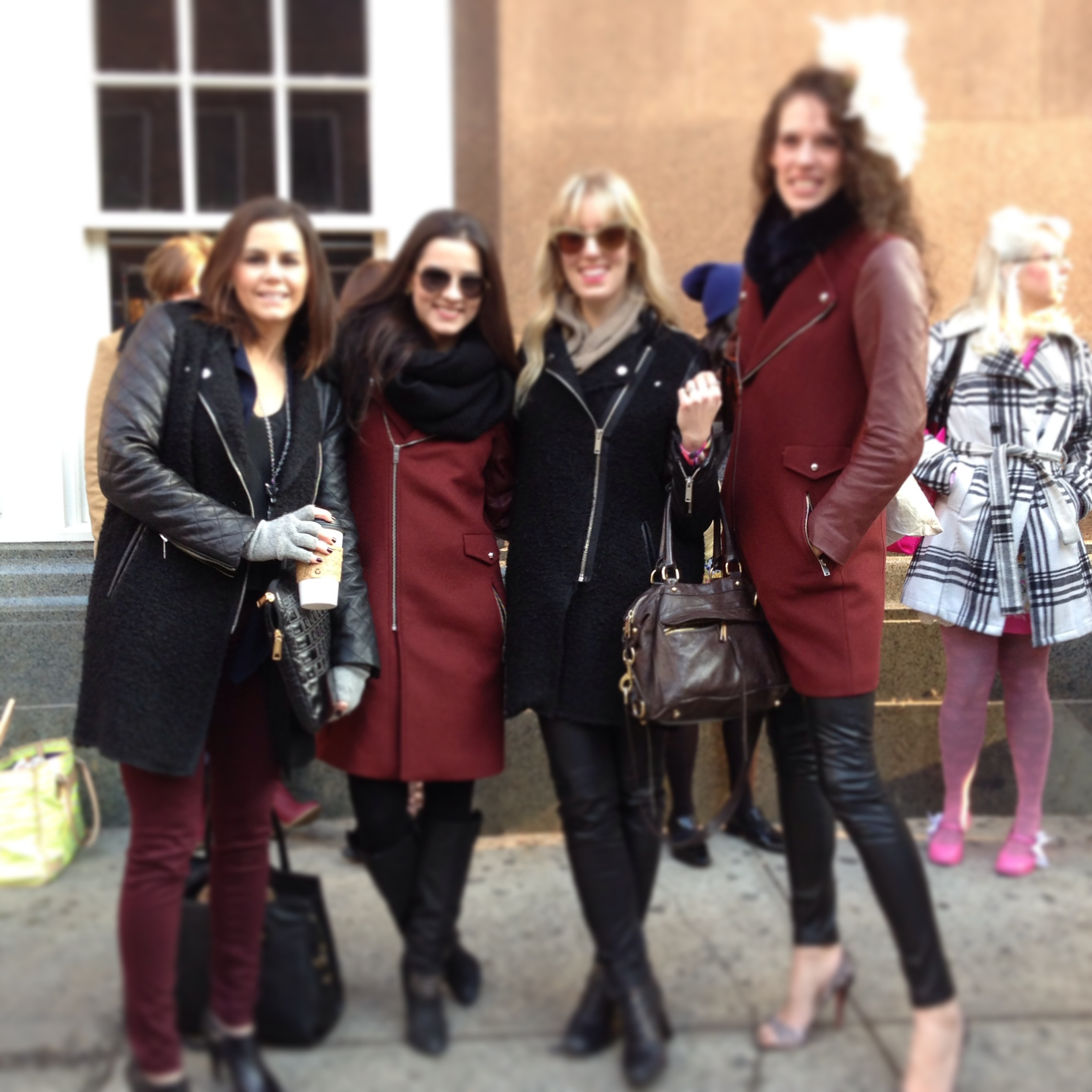 zara jackets on robyn m ward, justmamor, dear andi and e.kammeyer
