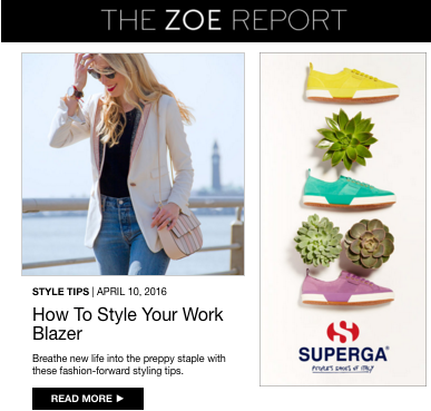 The Brooklyn Stylist x The Zoe Report