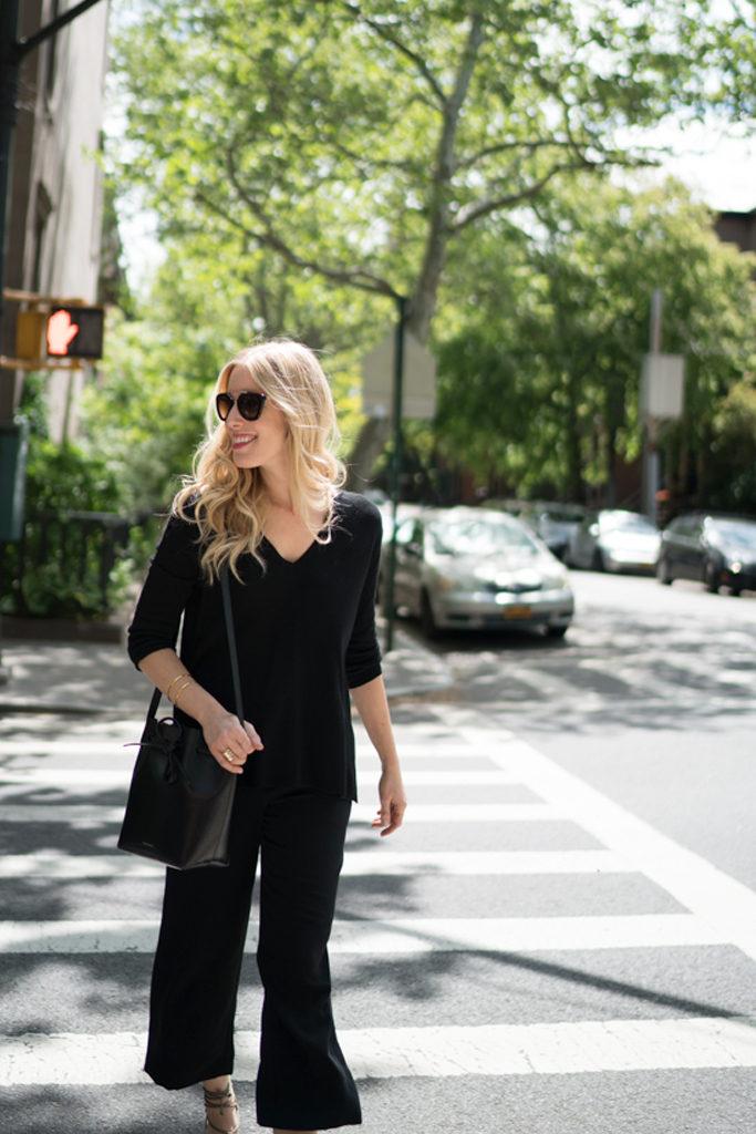magaschoni black cashmere