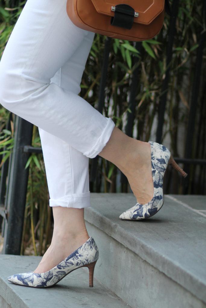 thebrooklynstylist rockport total motion heels