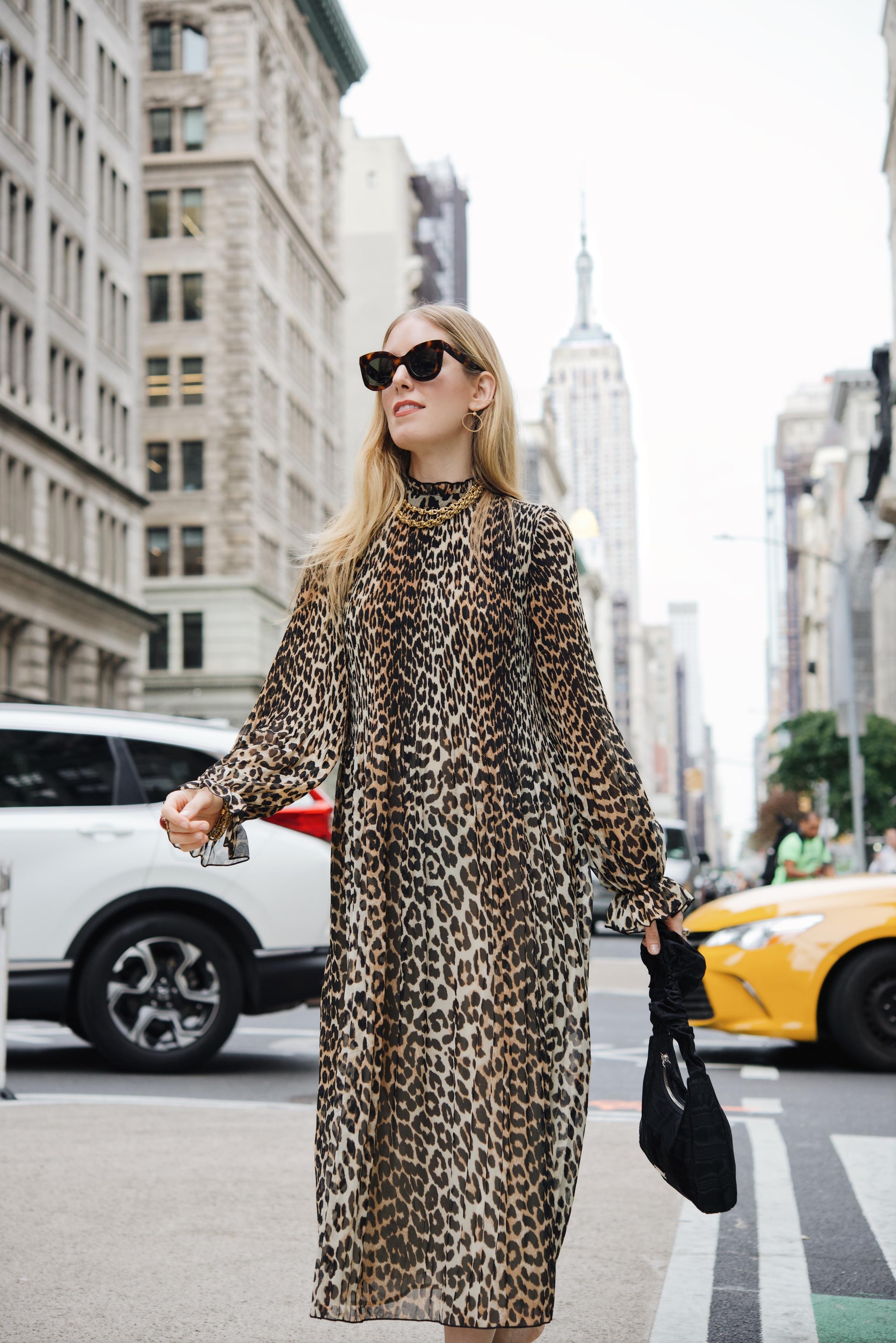thenewyorkstylist nyfw style leopard ganni 3