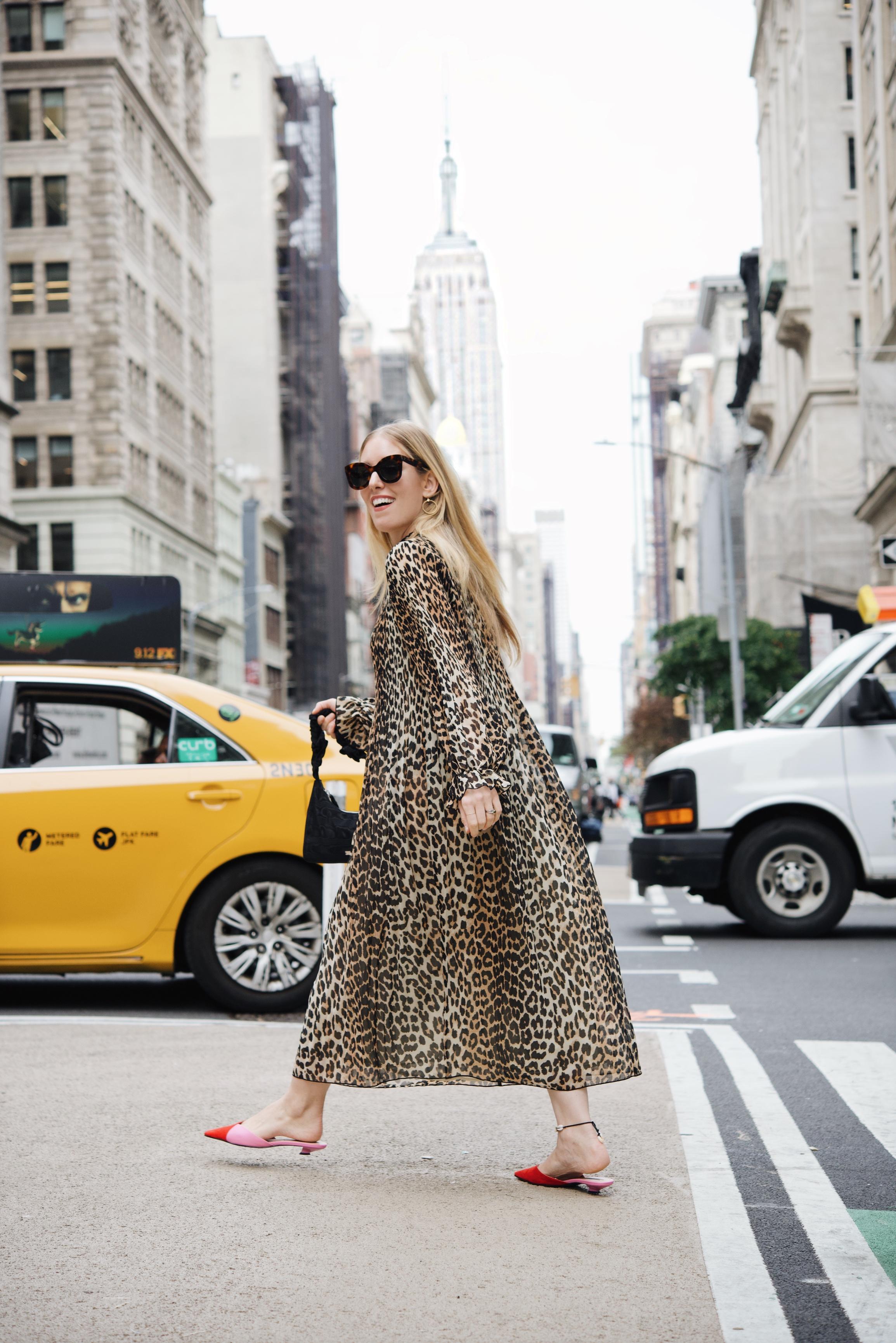 thenewyorkstylist nyfw style leopard ganni 2
